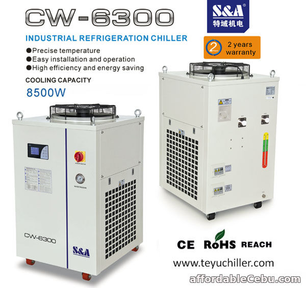 1st picture of S&A water chiller for led lighting machine 220V/380V 60Hz/50Hz For Sale in Cebu, Philippines