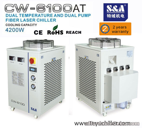 1st picture of S&A recirculating chiller CW-6100AT for Raycus 500W Laser For Sale in Cebu, Philippines