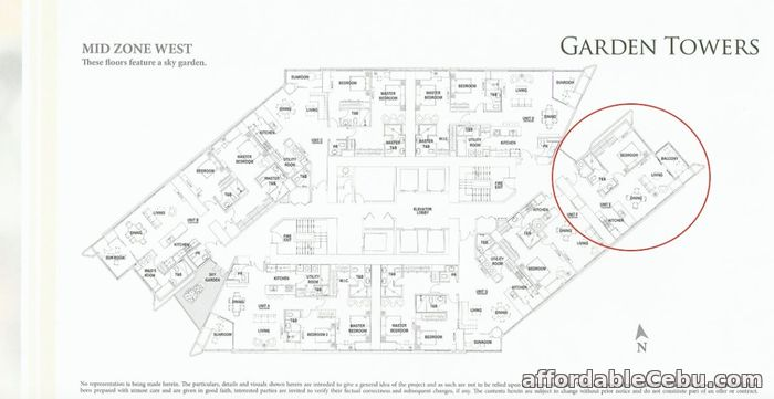 3rd picture of 1BR UNIT FOR SALE IN GARDEN TOWERS For Sale in Cebu, Philippines