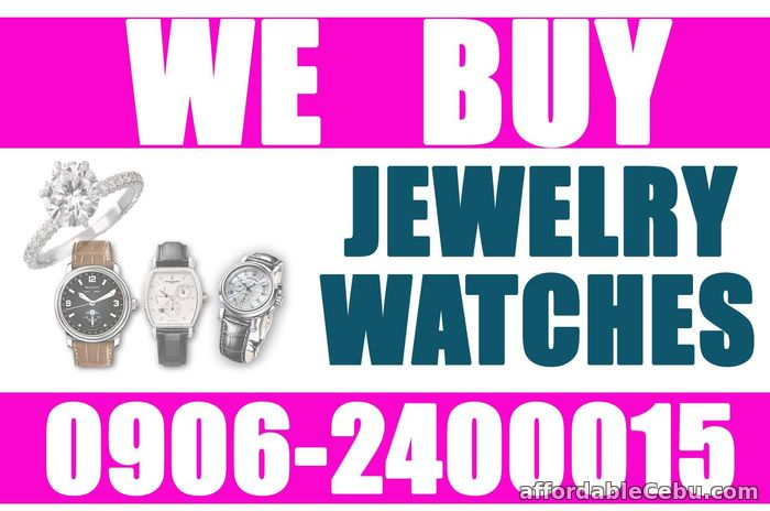 1st picture of PHILIPPINE WATCH AND JEWELRY BUYER. ONLINE 24/7! HIGHEST APPRAISAL! Wanted to Buy in Cebu, Philippines