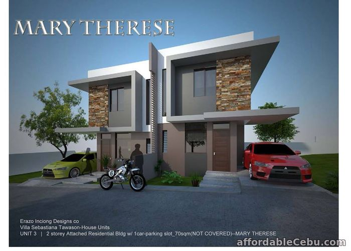 4th picture of Villa Sebastiana Residences Location: Tawason, Mandaue City, Cebu For Sale in Cebu, Philippines