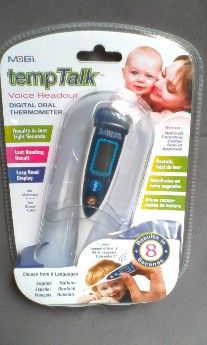 1st picture of MOBI TEMPTALK DIGITAL THERMOMETER For Sale in Cebu, Philippines