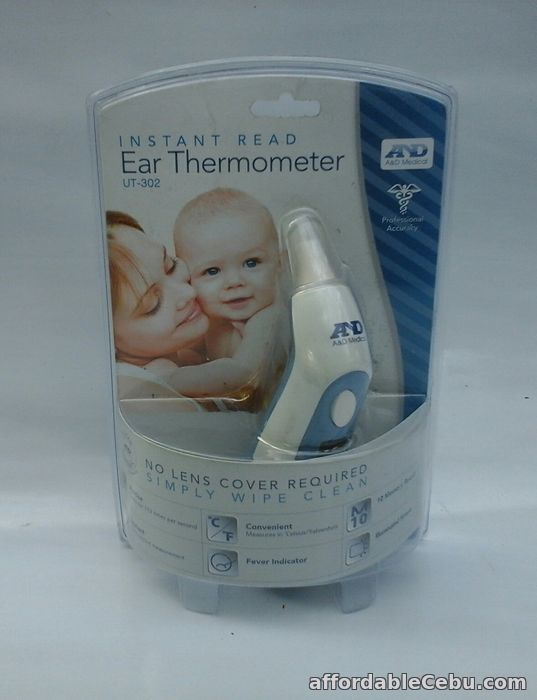 1st picture of AND LIFESOURCE INFRARED DIGITAL EAR THERMOMETER UT-302 For Sale in Cebu, Philippines