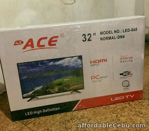 1st picture of Ace 32 inches Slim LED TV For Sale in Cebu, Philippines