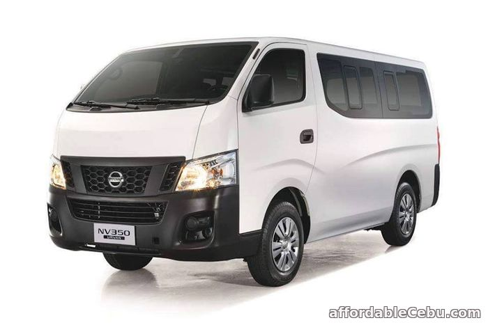 1st picture of BRAND NEW VAN FOR RENT (NISSAN URVAN 350) For Rent in Cebu, Philippines