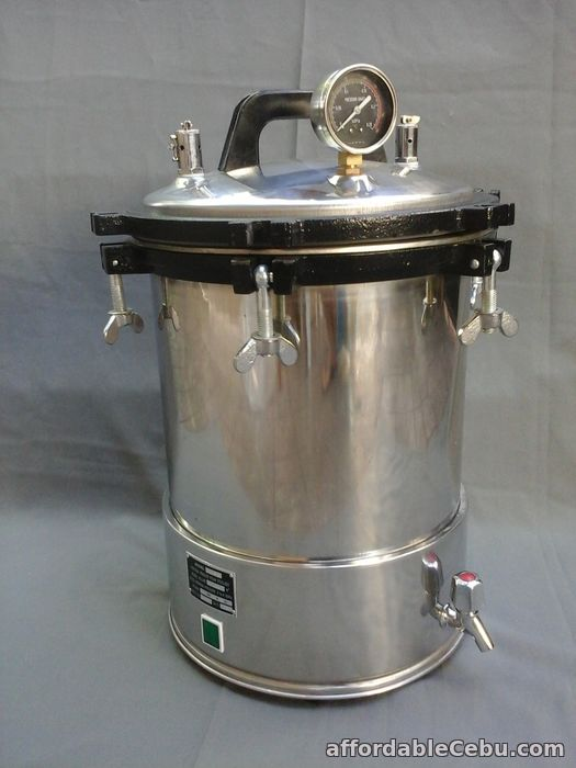 1st picture of AUTOCLAVE STERILIZER MACHINE 18.0 LITERSWITH DRAINAGE For Sale in Cebu, Philippines