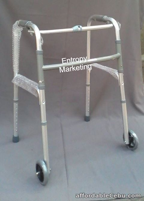 2nd picture of Standard Walker walking aid with wheels For Sale in Cebu, Philippines