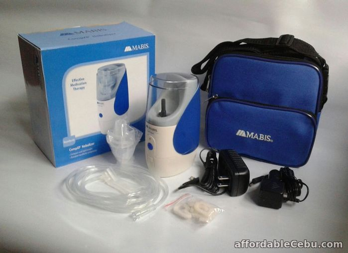 1st picture of RECHARGEABLE NEBULIZER MABIS DELUXE COMBO NEBXP HANDHELD For Sale in Cebu, Philippines