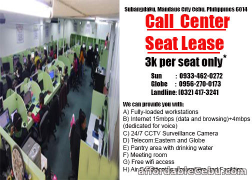 1st picture of Cebu Office Space For Rent For Rent in Cebu, Philippines