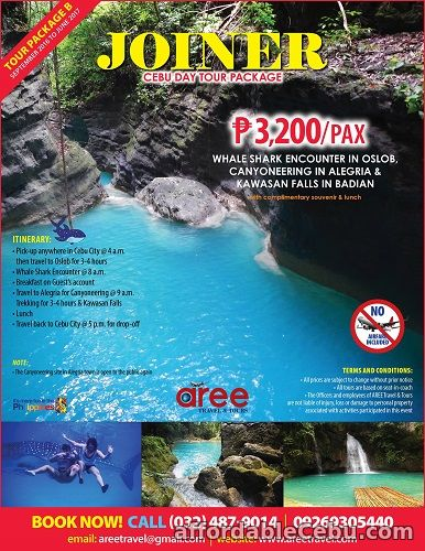 1st picture of CEBU JOINER TOUR PACKAGE Offer in Cebu, Philippines