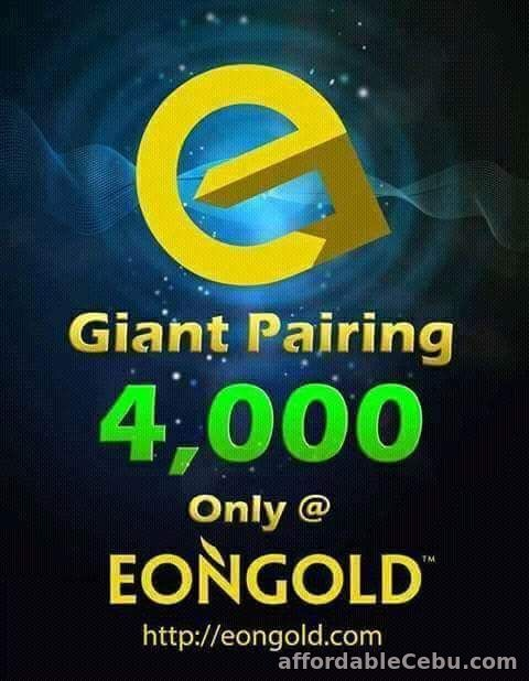 3rd picture of EONGOLD International Business,Biggest Pairing Bonus, Earn dollars from home! Looking For in Cebu, Philippines