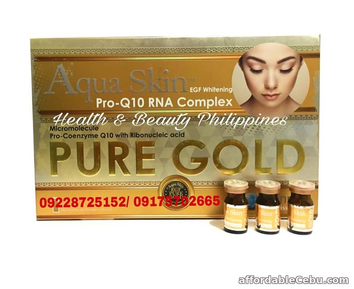 2nd picture of BEST OFFER AQUA SKIN PURE GOLD FOR SALE For Sale in Cebu, Philippines