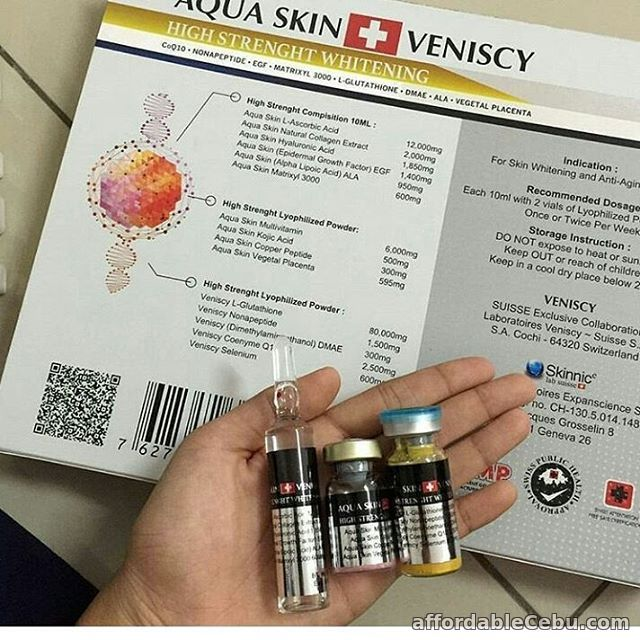 1st picture of Aqua skin veniscy high strenght whitening glutathione For Sale in Cebu, Philippines