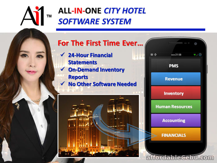 1st picture of City Hotel Management Software For Sale in Cebu, Philippines