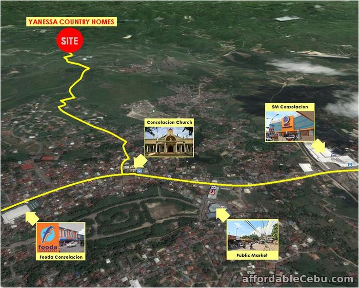 5th picture of Lot for sale at Yanessa Country Homes with no reservation fee! For Sale in Cebu, Philippines