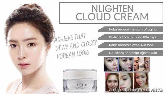 1st picture of Nlighten Cloud Cream For Sale in Cebu, Philippines