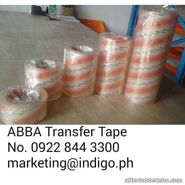 1st picture of ABBA TRANSFER TAPE AT AN AFFORDABLE PRICE For Sale in Cebu, Philippines