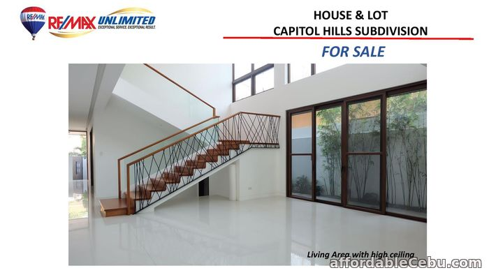 2nd picture of FOR SALE HOUSE AND LOT IN CAPITOL Hills SUBDIVISION For Sale in Cebu, Philippines
