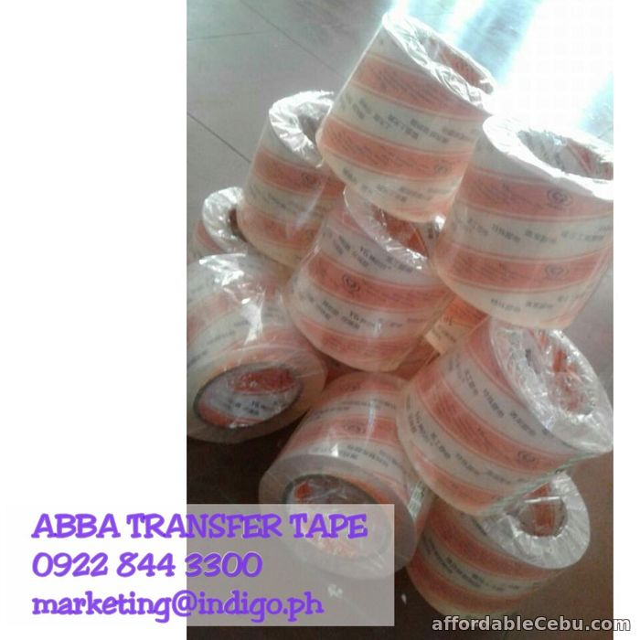 2nd picture of ABBA TRANSFER TAPE AT AN AFFORDABLE PRICE For Sale in Cebu, Philippines