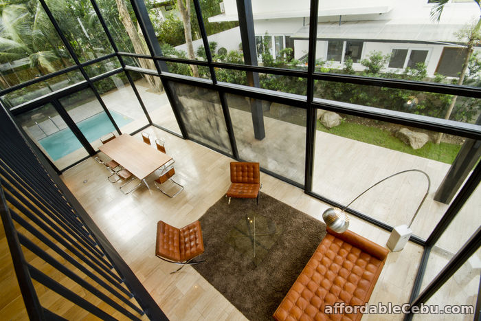 2nd picture of FOR LEASE AYALA ALABANG MODERN MID-CENTURY STYLE 5 BEDROOM HOME For Rent in Cebu, Philippines