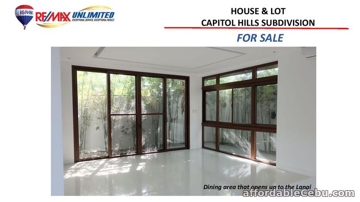 3rd picture of FOR SALE HOUSE AND LOT IN CAPITOL Hills SUBDIVISION For Sale in Cebu, Philippines