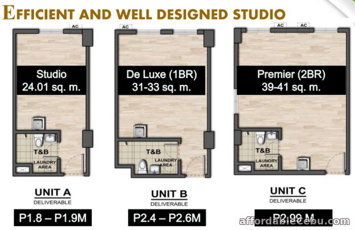 4th picture of Condominium For Sale -  AMAIA STEPS Mandaue Tower 1 For Sale in Cebu, Philippines