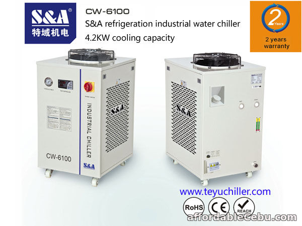 1st picture of S&A water chiller for laser machines and CNC milling machines For Sale in Cebu, Philippines