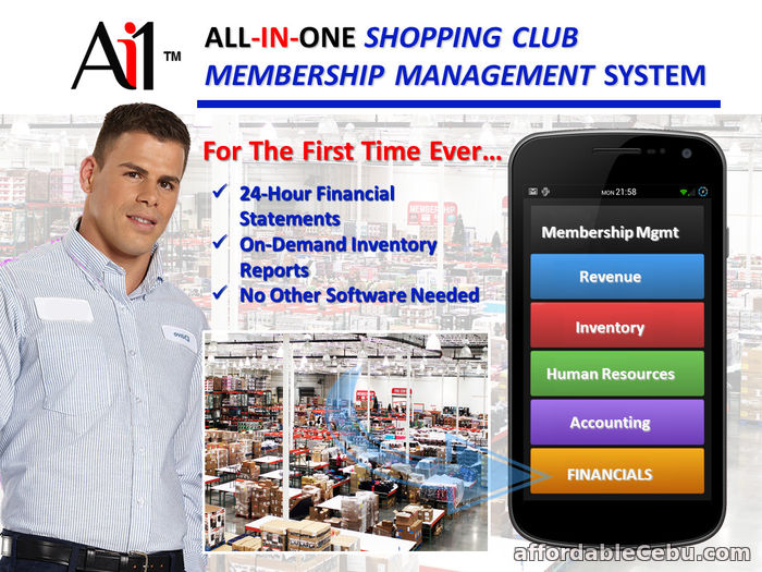 1st picture of Shopping Club Membership Management System! For Sale in Cebu, Philippines