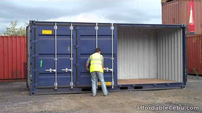 3rd picture of Container Van storage. ( Container Conversion Modification ) For Rent in Cebu, Philippines