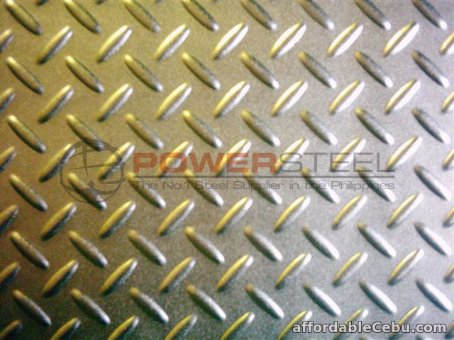2nd picture of Supplier of Mild Steel Checkered Plate For Sale in Cebu, Philippines