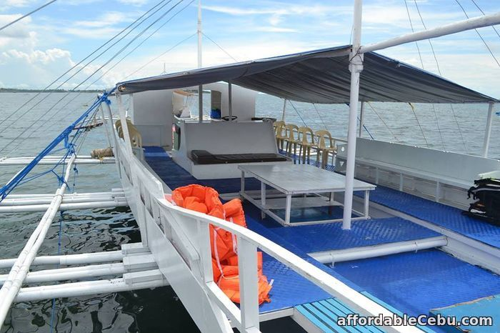 2nd picture of Banca Rental for Island Hopping For Rent in Cebu, Philippines