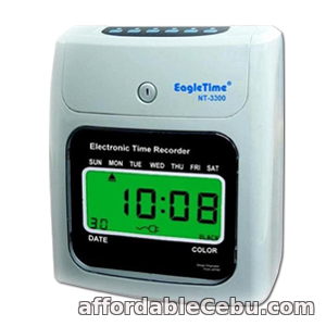 1st picture of EagleTime NT-3300 LCD Clock Display Bundy Clock Time and attendance recorder For Sale in Cebu, Philippines