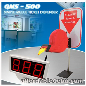 1st picture of QMS-500 Queuing System Cebu Visayas Mindanao For Sale in Cebu, Philippines