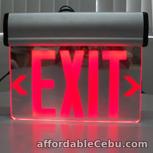 1st picture of CK-200DR EDGE Lit Exit Sign (Red) For Sale in Cebu, Philippines