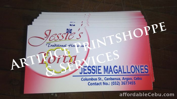 1st picture of Business Cards For Sale in Cebu, Philippines