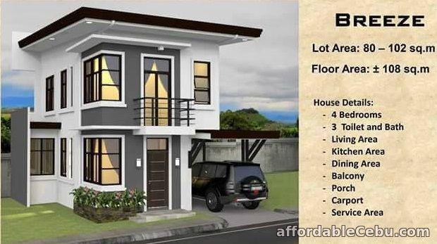 5th picture of Ricksville Heights Minglanilla Breeze Model 4BR 3TandB For Sale in Cebu, Philippines