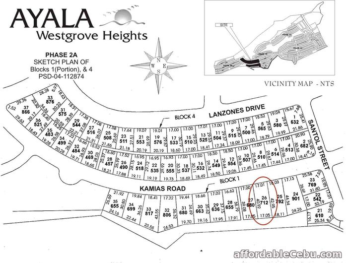 2nd picture of AYALA WESTGROVE HEIGHTS LOT SINGLE- LOADED LOT FOR SALE For Sale in Cebu, Philippines
