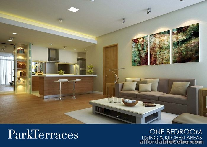 2nd picture of CORNER 1BR FOR SALE AT PARK TERRACES For Sale in Cebu, Philippines
