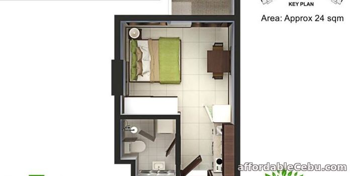 3rd picture of Studio Unit Condo for sale at Talisay Cebu For Sale in Cebu, Philippines