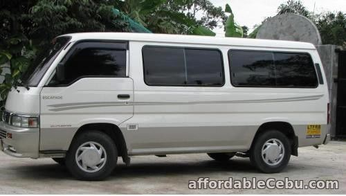 1st picture of Rent a Van for City Tour For Rent in Cebu, Philippines