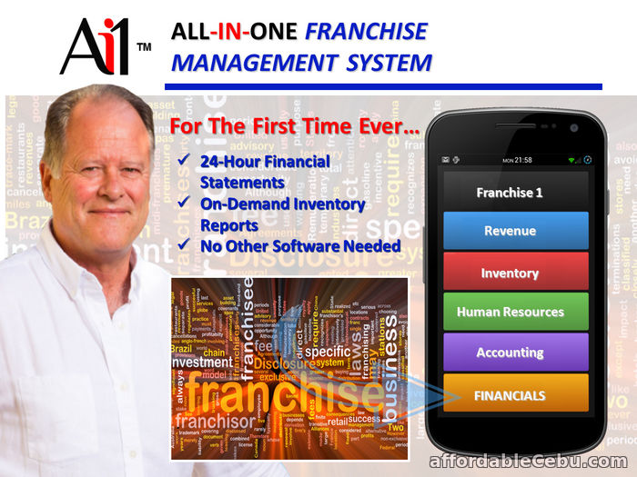 1st picture of Franchise Management Software For Sale in Cebu, Philippines