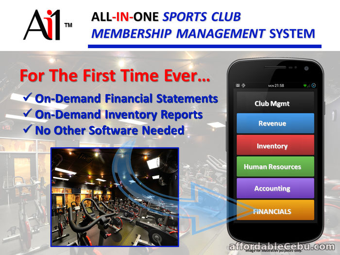 2nd picture of Athletic Club Membership Management System For Sale in Cebu, Philippines