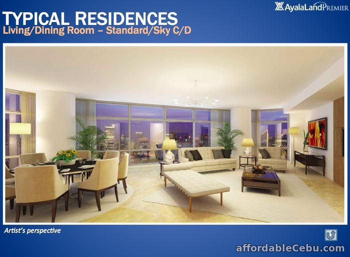 5th picture of TWO ROXAS TRIANGLE 3BR CORNER UNIT FOR SALE For Sale in Cebu, Philippines