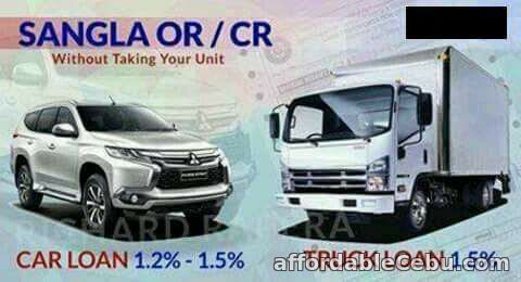 1st picture of Cash Loan Sangla OR and CR only CAR and TRUCK Offer in Cebu, Philippines