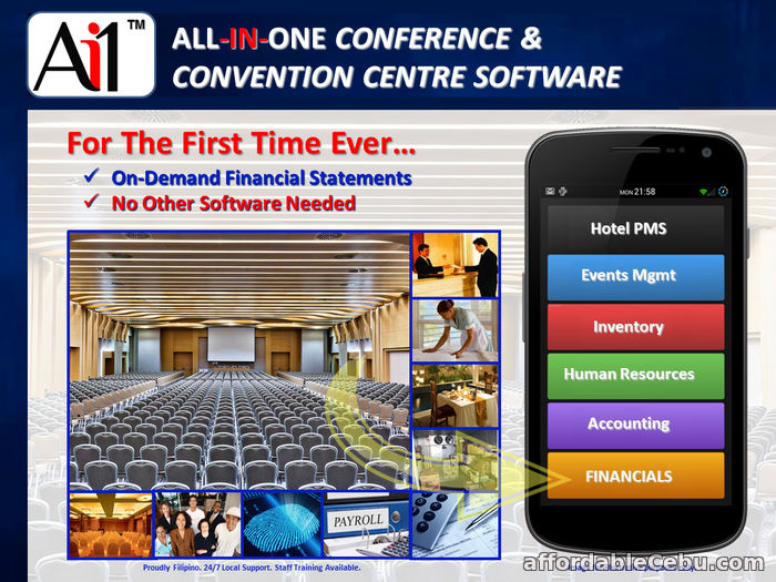 2nd picture of Conference and Convention Centre Hotel Software Philippines For Sale in Cebu, Philippines