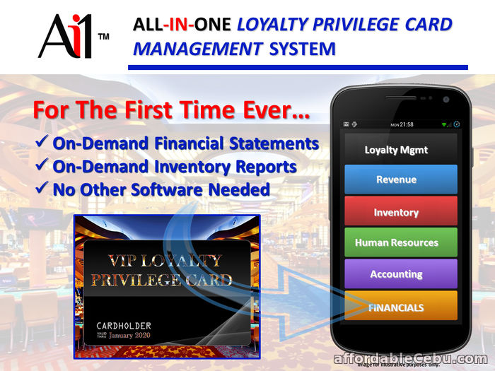 2nd picture of Loyalty Privilege Card Software For Sale in Cebu, Philippines