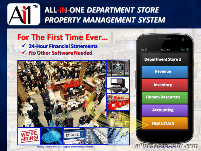 1st picture of Department Store Management Systems Software Philippines For Sale in Cebu, Philippines