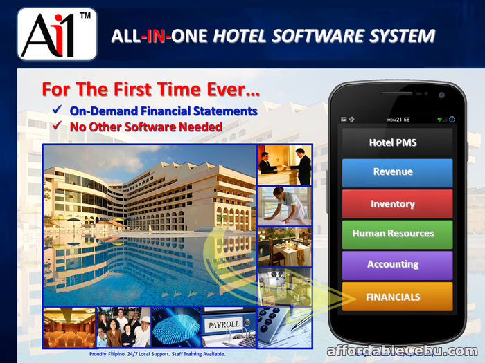2nd picture of All-In-One Hotel Property Management Software For Sale in Cebu, Philippines