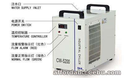 2nd picture of S&A CW-5200 water chiller to cool turbomolecular pump For Sale in Cebu, Philippines