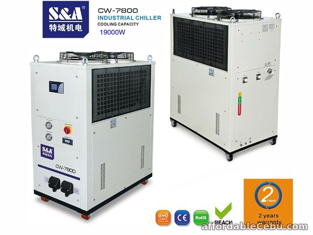 1st picture of S&A Air-cooled water chiller for water-cooled computing server For Sale in Cebu, Philippines